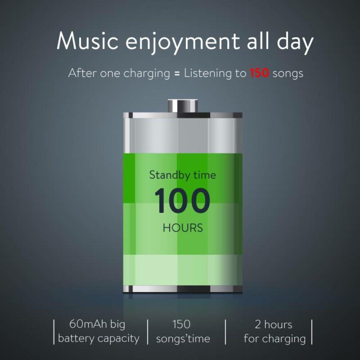 Baseus fülhallgató, Bluetooth Encok S07, Sports vezeték nélküli, piros/fekete (NGS07-19)