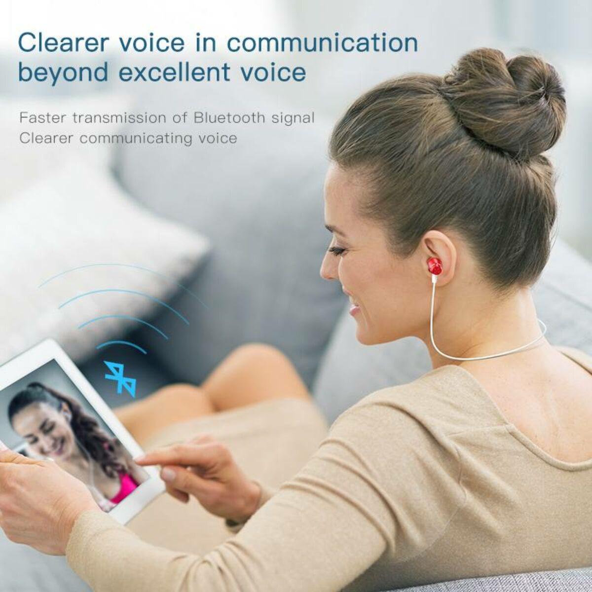 Baseus füllhallgató, Bluetooth Encok S09 Sport vezeték nélküli, beszélgetési idő 8 óra, zene hallgatás 6 óra, fekete (NGS09-01)