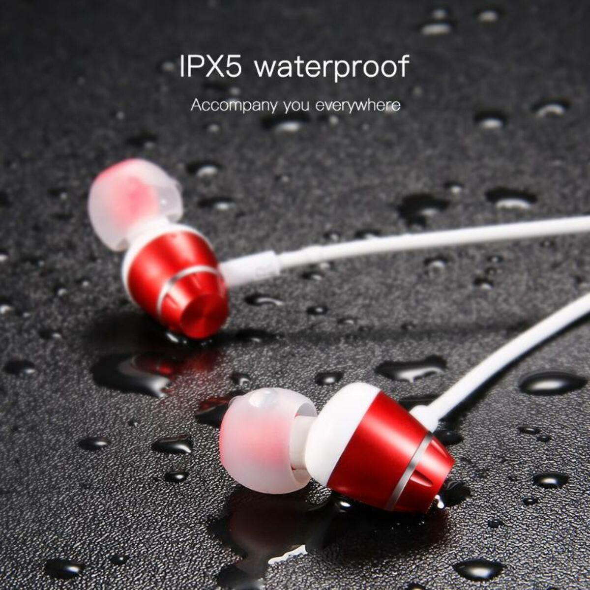 Baseus füllhallgató, Bluetooth Encok S09 Sport vezeték nélküli, beszélgetési idő 8 óra, zene hallgatás 6 óra, fehér (NGS09-02)
