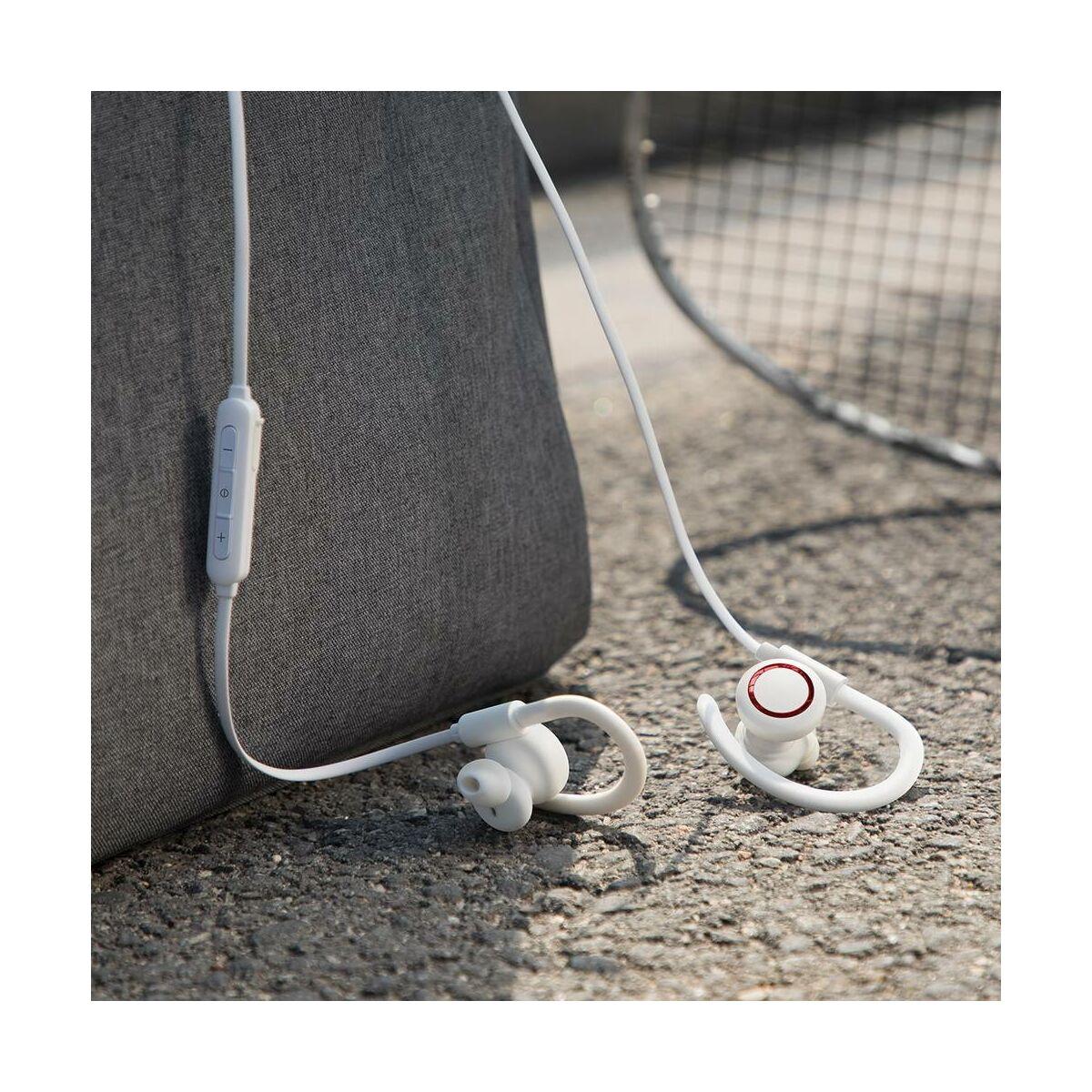 Baseus fülhallgató, Bluetooth Encok S17 vezeték nélküli, fehér (NGS17-02)