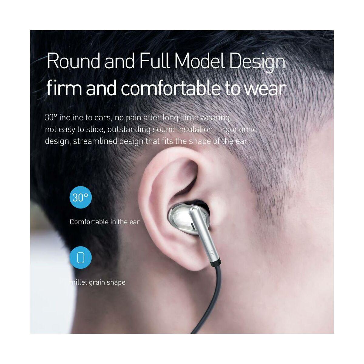 Baseus fülhallgató, Bluetooth Encok S30, vezeték nélküli, piros (NGS30-09)