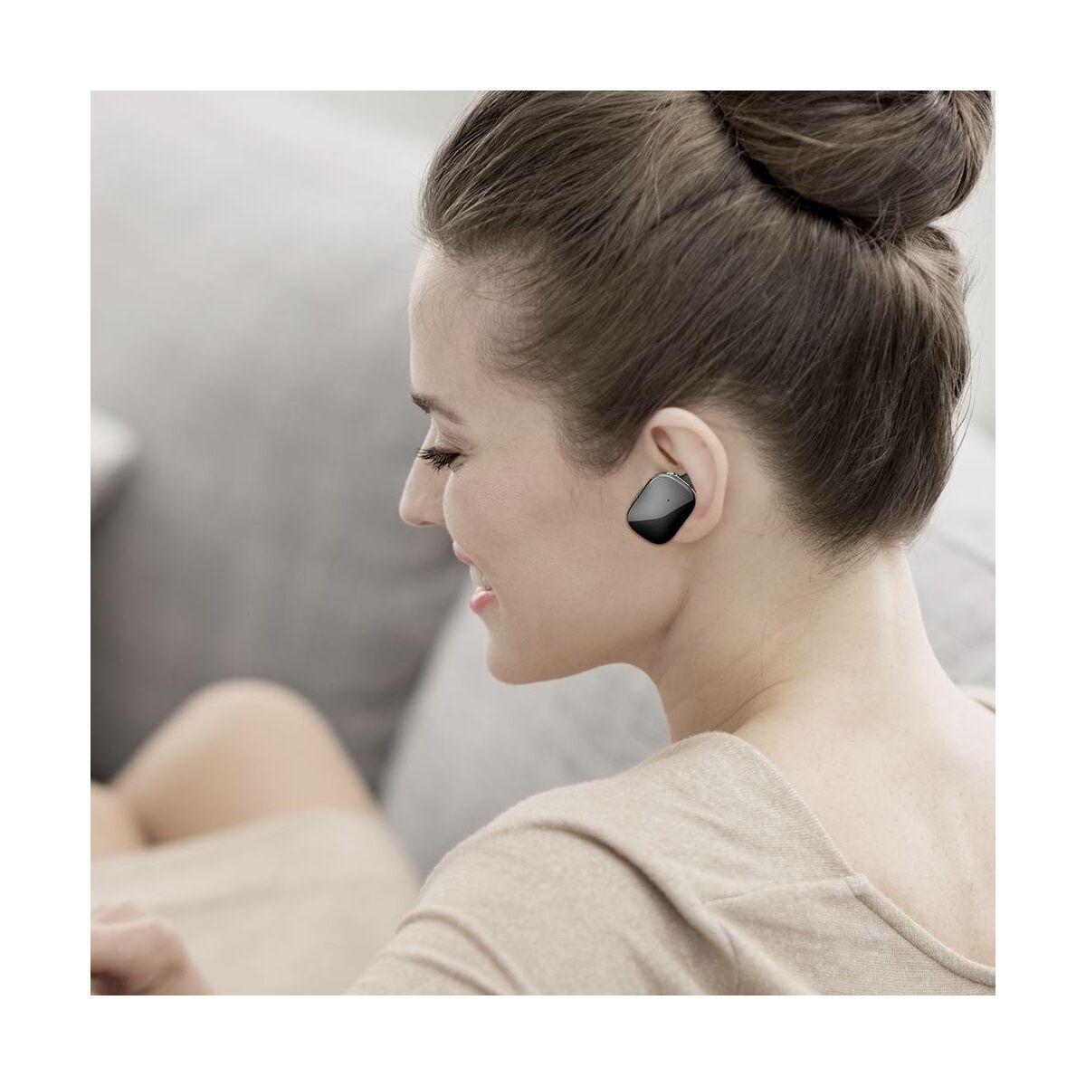 Baseus fülhallgató, Bluetooth Encok W02, Truly Wireless Touch Control, Binaural, zajcsökkentés, HD hang, BT 4.2, fekete (NGW02-01)