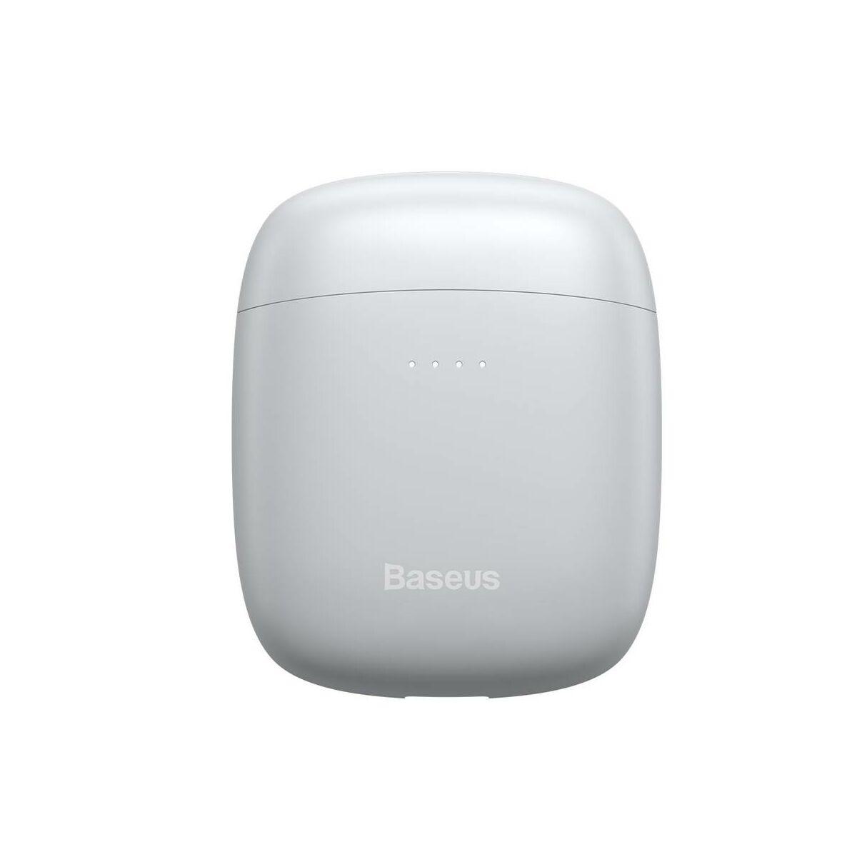 Baseus fülhallgató, Bluetooth Encok W04, PRO TWS Truly Wireless headset, fehér (NGW04P-02)