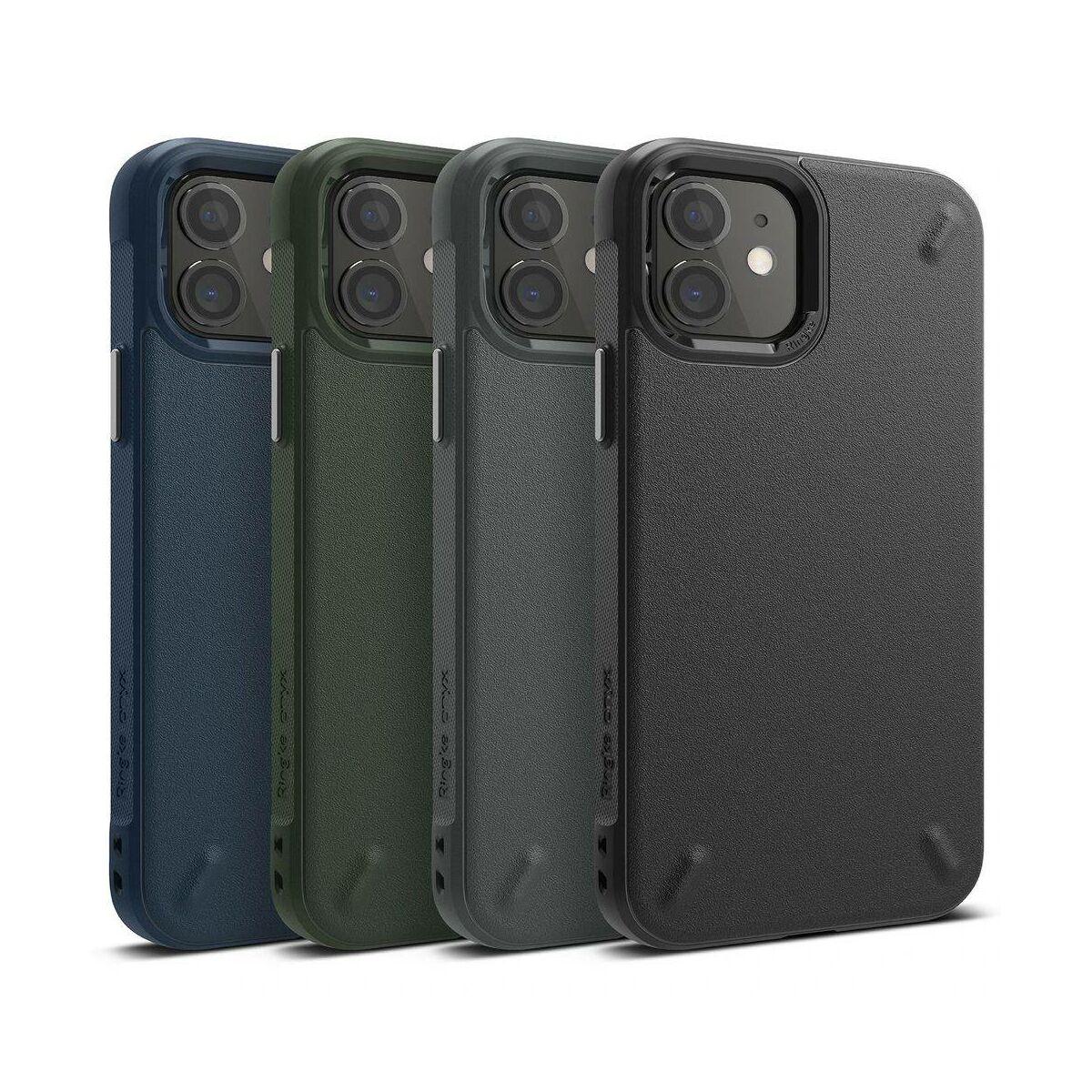 Ringke iPhone 12 mini tok, Onyx, Fekete