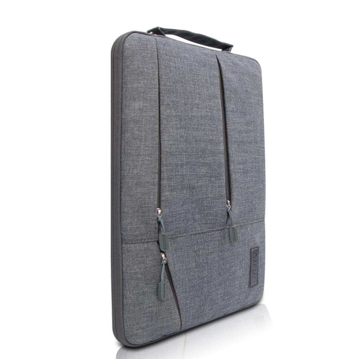WiWU kézi táska, Gent Business Laptop tartó tok, 15.6 inch , Szürke