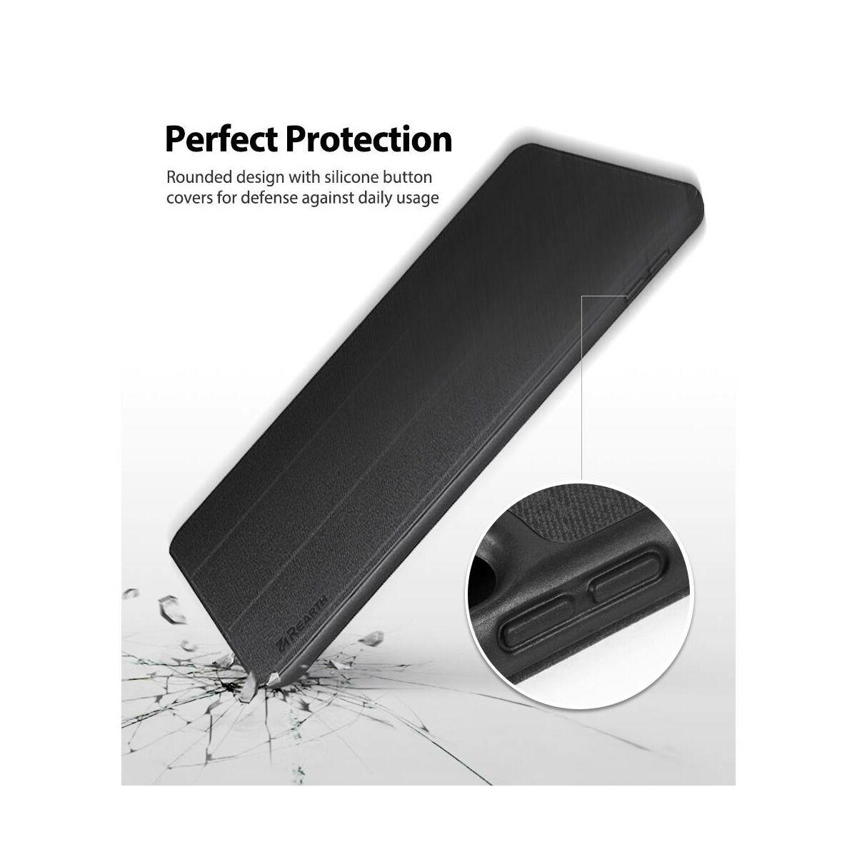 "Ringke iPad Pro 10.5"" / Air 3 (2019) tok, Smart tok,asztali tartó funkcióval, Apple ceruza tartóval, fekete"