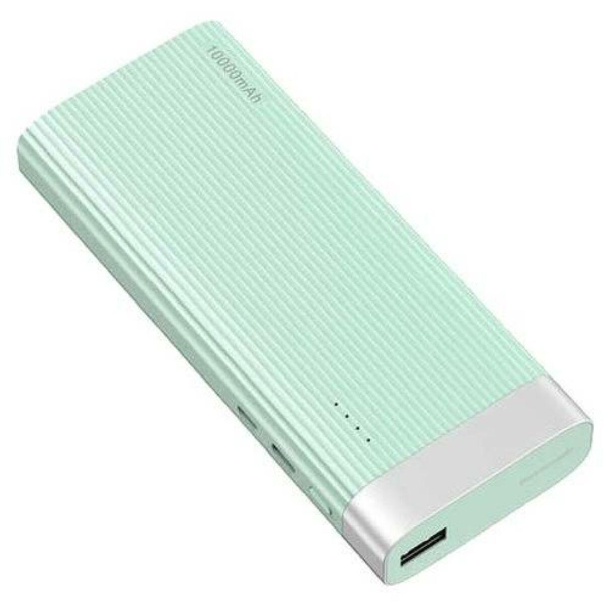 Baseus Power Bank Parallel Line (Micro USB + Type-C bemenet / USB kimenet), 2.1A, 10.000 mAh, kék (PPALL-PX03)