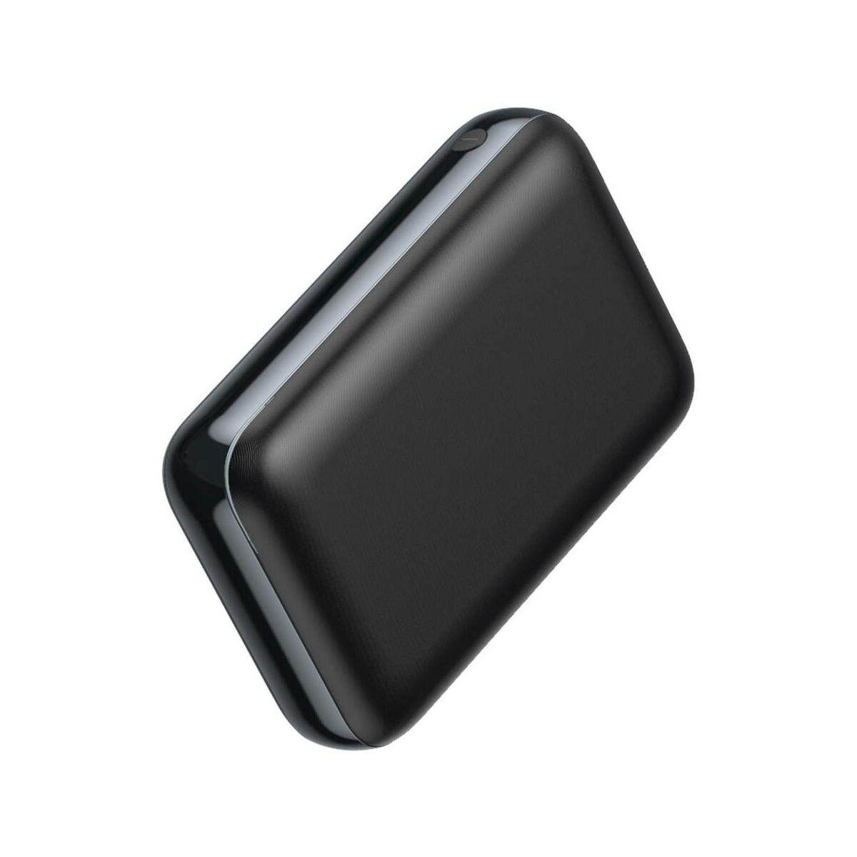 Baseus Power Bank Mini JA 10.000 mAh, fekete (PPJAN-A01)