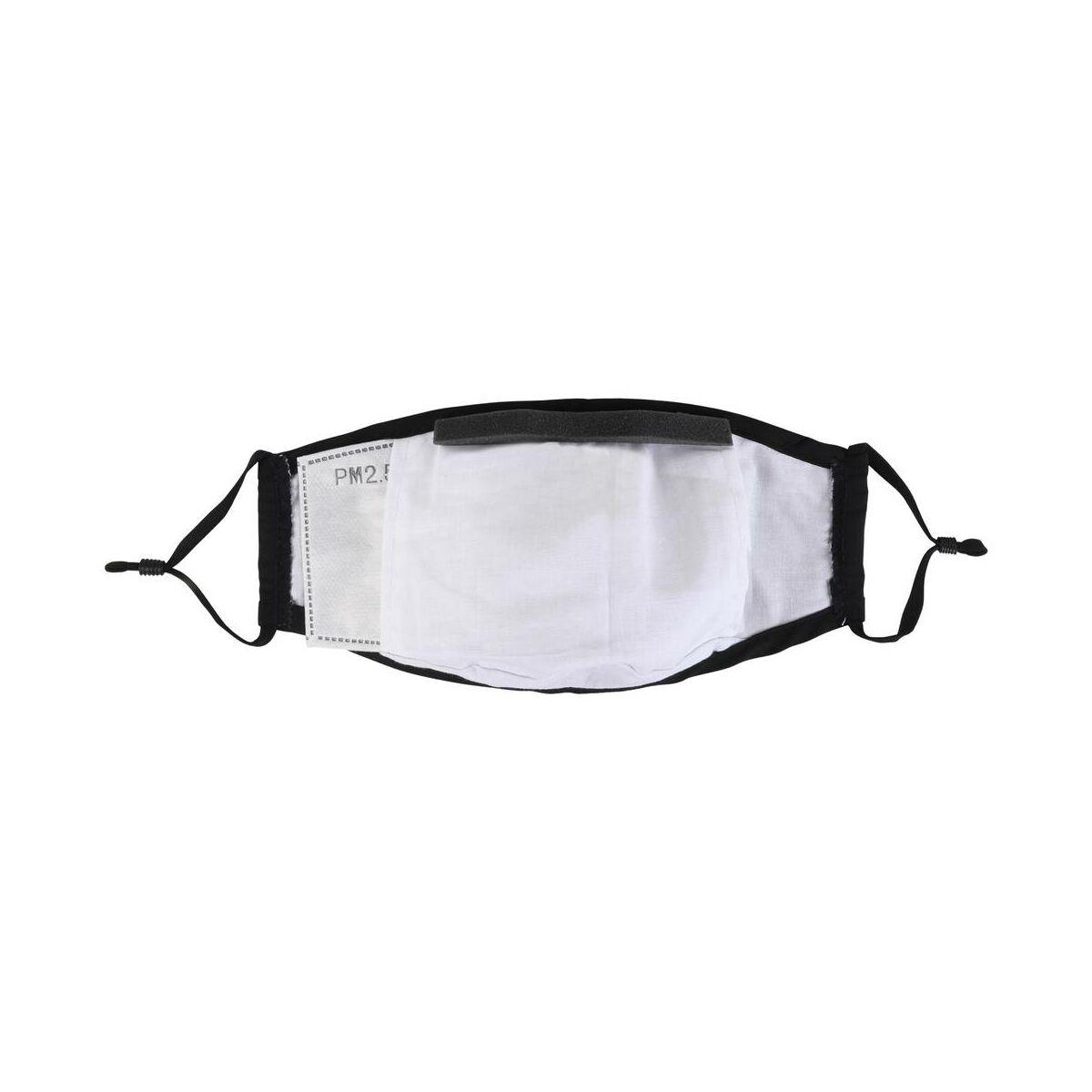 PureMe Maszk, Újrafelhasználható, Állítható füllel, Pamut, 2db N95 szűrővel a csomagban, fekete