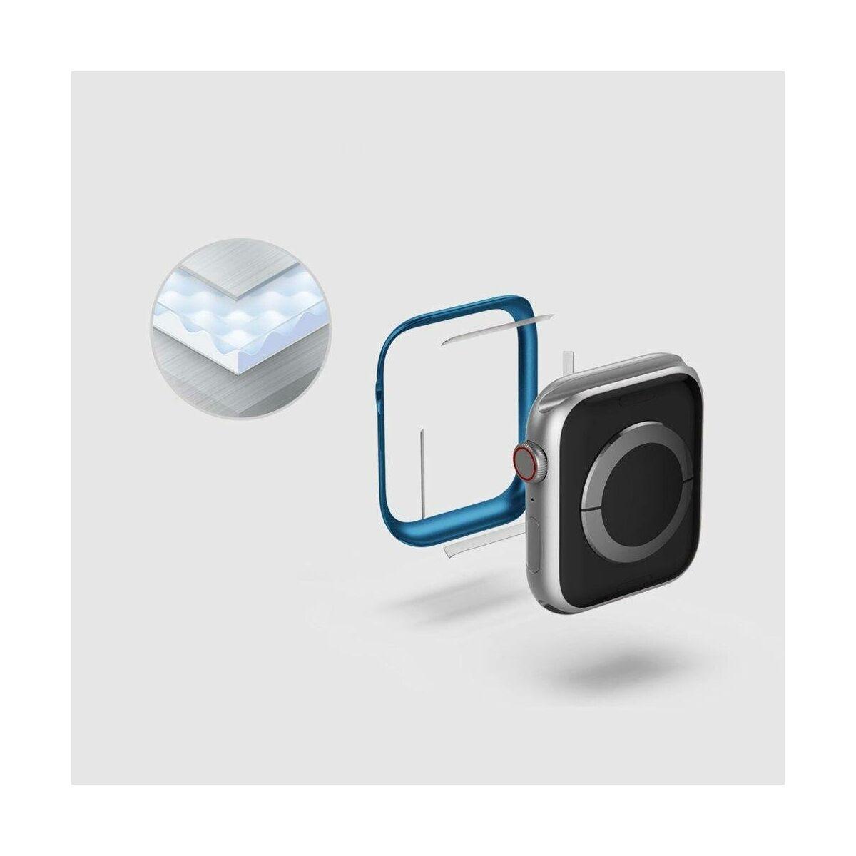 Ringke Apple Watch kijelzővédő  acélkeret, Bezel  Styling 40mm - AW4-40-02 (Stainless Steel), Rózsaszín
