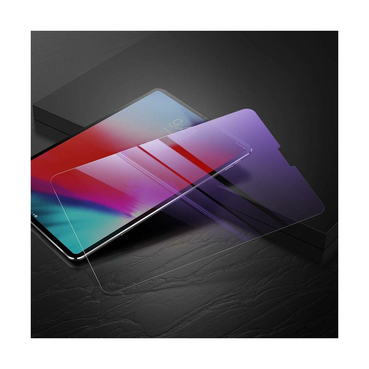 """Baseus iPad Pro 12.9"""" 0.3 mm, kékfény szűrős edzett üveg kijelzővédő fólia, átlátszó (SGAPIPD-BX02)"""