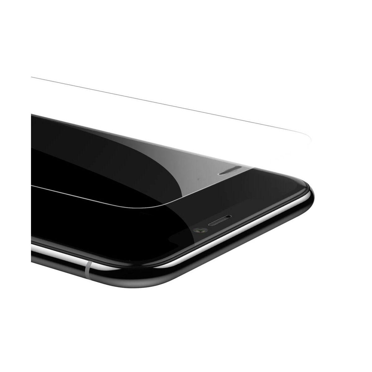 """Baseus iPhone XS (5.8"""") 0.3 mm, edzett üveg kijelzővédő fólia, átlátszó (SGAPIPH58-LS02)"""