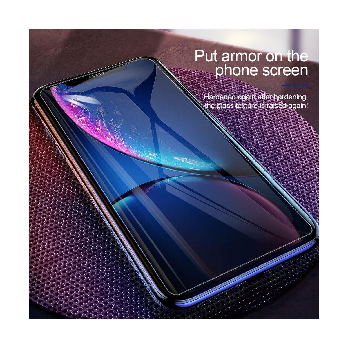 """Baseus iPhone XR/ 11 (6.1"""") 0.15 mm, edzett üveg kijelzővédő fólia, átlátszó (SGAPIPH61-GS02)"""