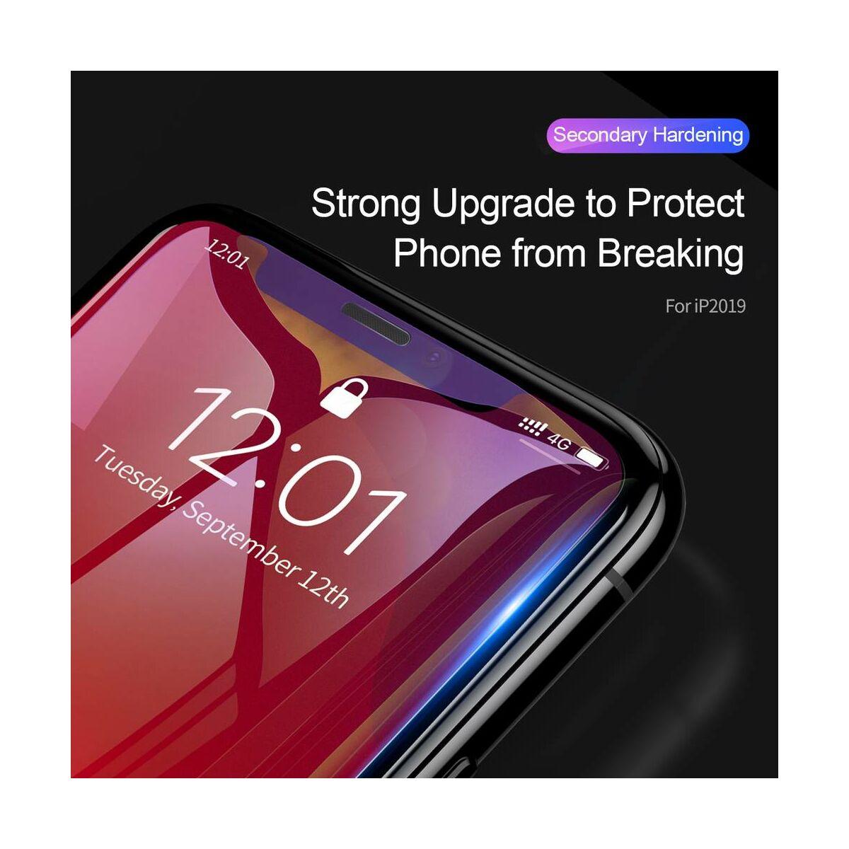 """Baseus iPhone XR/ 11 (6.1"""") 0.3 mm, edzett üveg kijelzővédő fólia, átlátszó (SGAPIPH61-LS02)"""