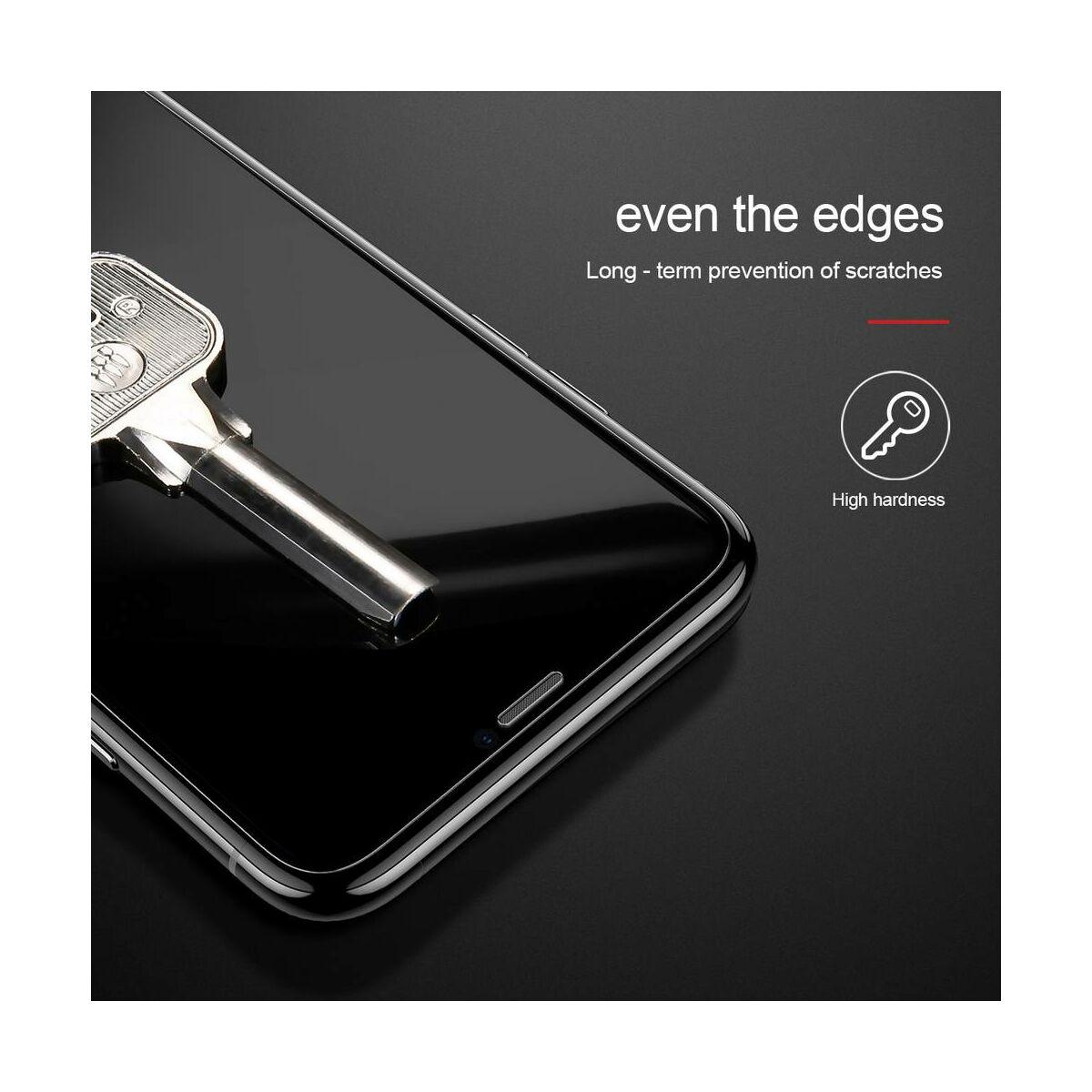 """Baseus iPhone XS Max (6.5"""") 0.15 mm, edzett üveg kijelzővédő fólia, átlátszó (SGAPIPH65-GS02)"""