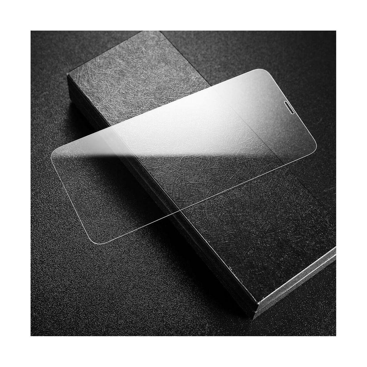 """Baseus iPhone XS Max (6.5"""") 0.3 mm, edzett üveg kijelzővédő fólia, átlátszó (SGAPIPH65-LS02)"""