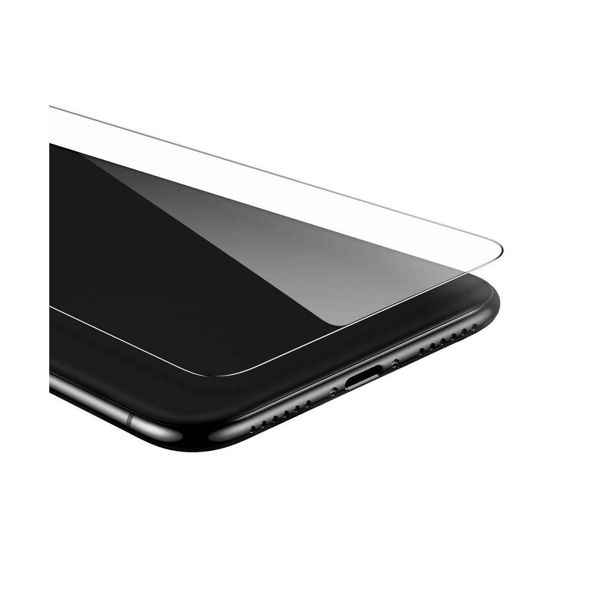 """Baseus iPhone 11 Pro Max (6.5"""") 0.15 mm, edzett üveg kijelzővédő fólia (2db a csomagban), átlátszó (SGAPIPH65S-GS02)"""