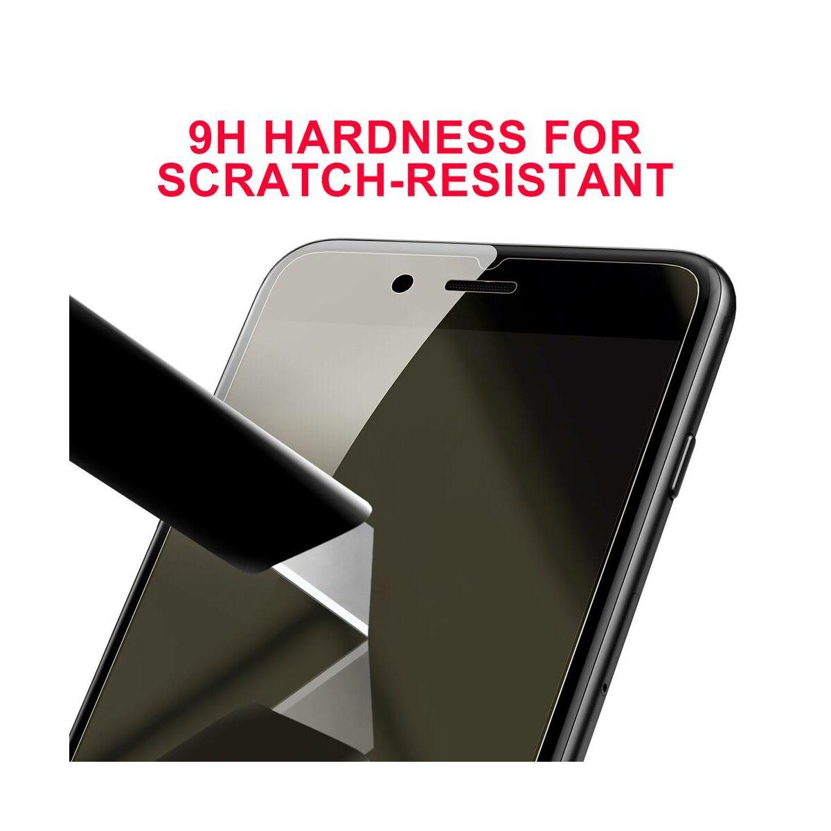 Baseus iPhone 8/7 Plus Mirror Glass tükröződő kijelzővédő üveg fólia, átlátszó (SGAPIPH7P-MJ02)