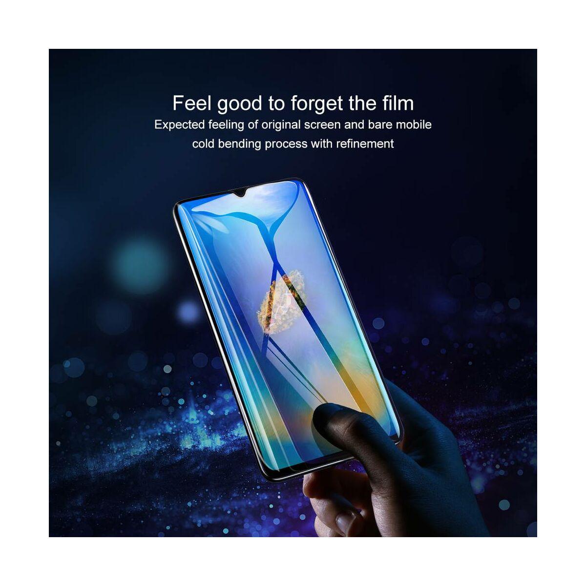 Baseus Huawei Mate 20X 0.3 mm, edzett üveg kijelzővédő fólia, fekete (SGHWMATE20X-KA01)