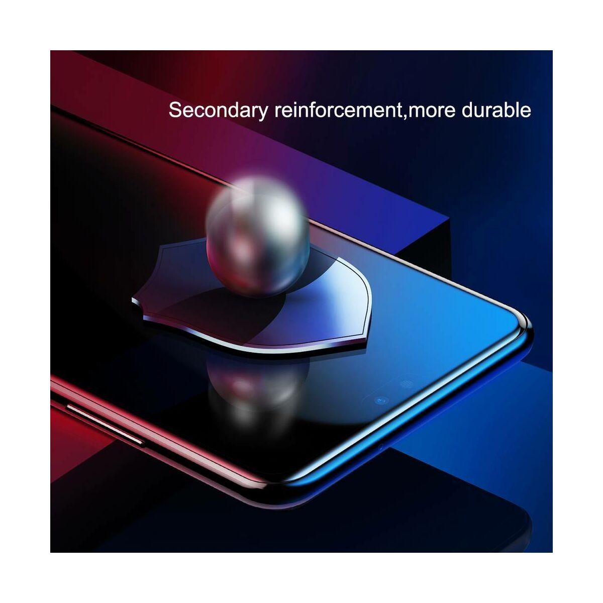 Baseus Huawei P20 Pro 0.3 mm, teljes felületre edzett üveg kijelzővédő fólia, fekete (SGHWP20P-01)