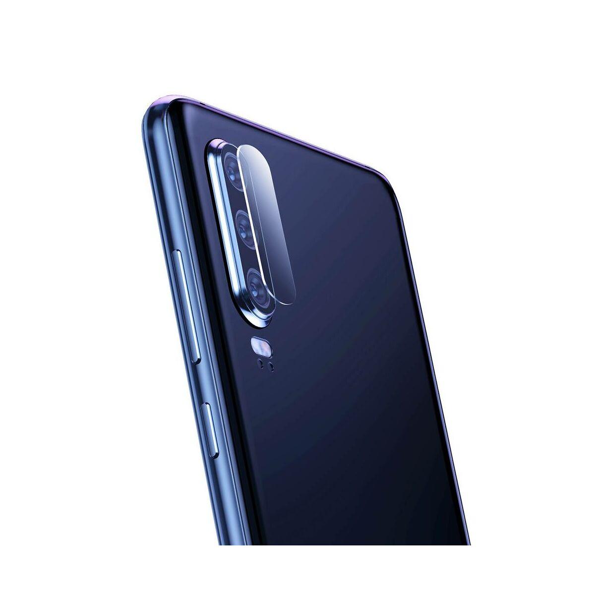 Baseus Huawei P30 0.2 mm, megerősített lencse, edzett üveg, átlátszó (SGHWP30-JT02)