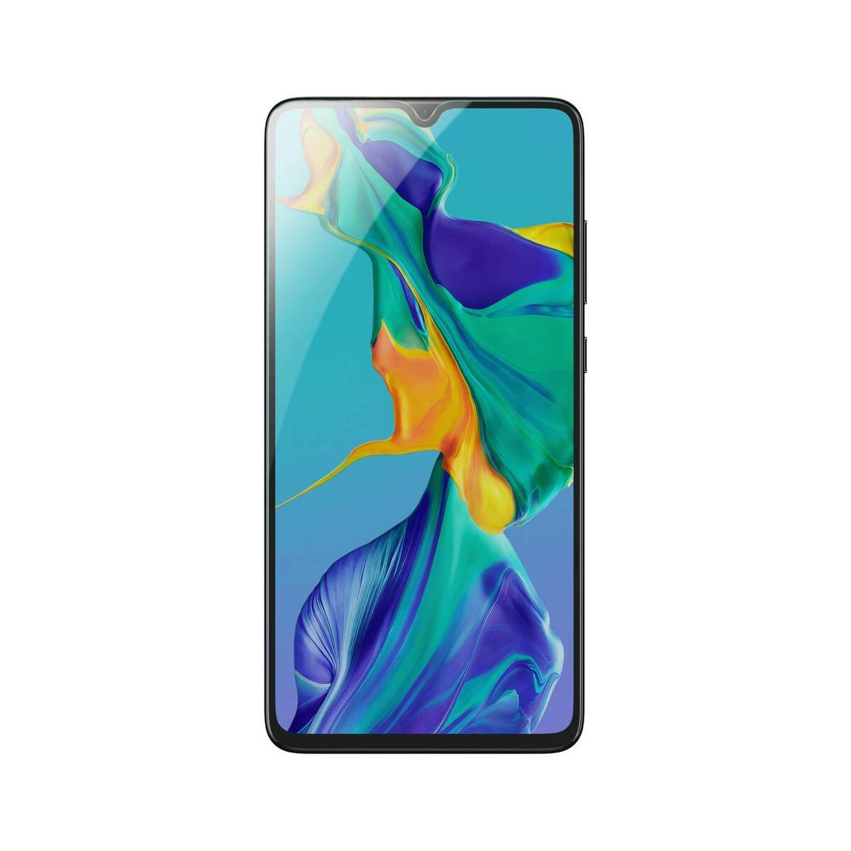 Baseus Huawei P30 0.3 mm, ívelt, edzett kijelzővédő üveg, fekete (SGHWP30-KA01)