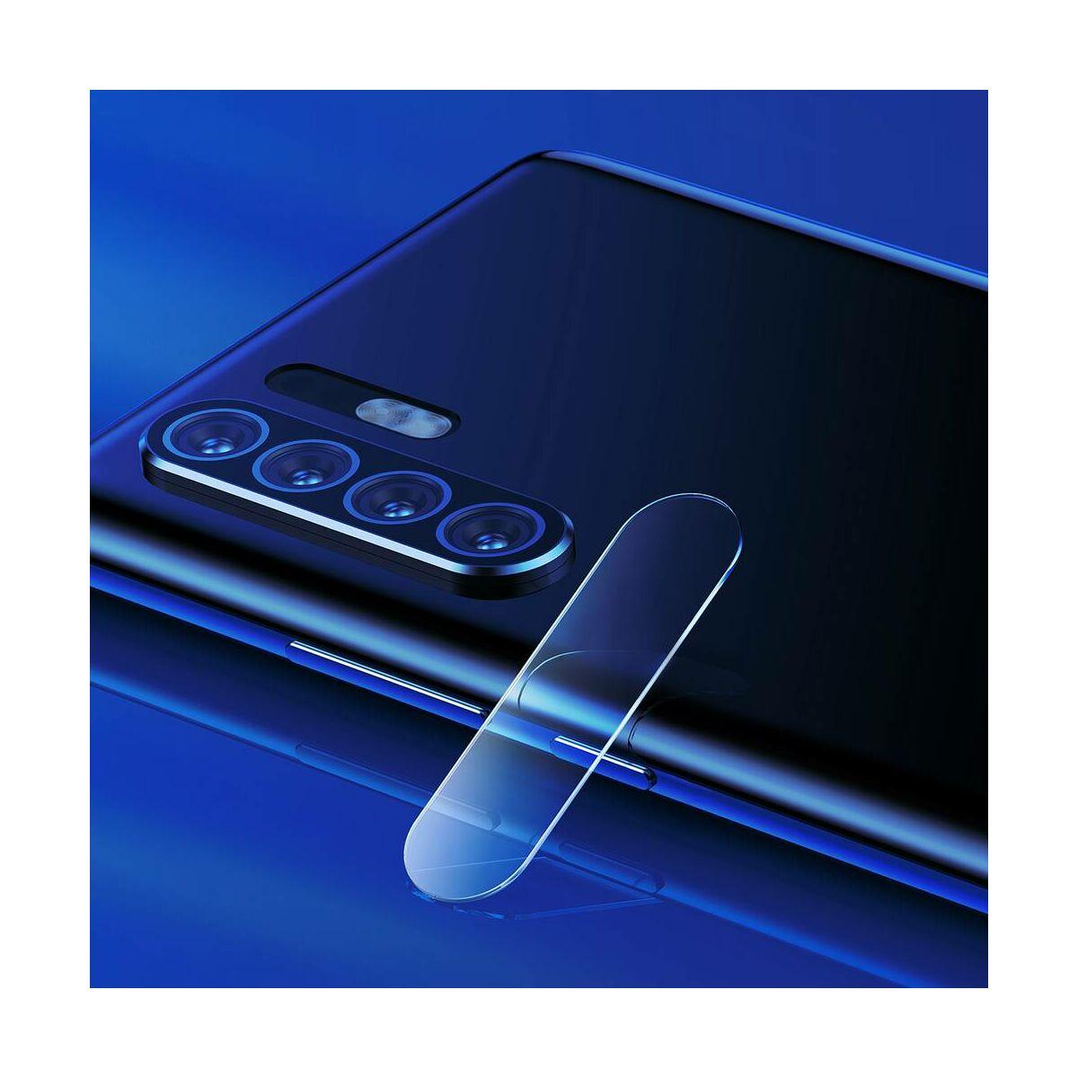 Baseus Huawei P30 Pro 0.2 mm, erősített lencse védő edzett üveg fólia, átlátszó (SGHWP30P-JT02)