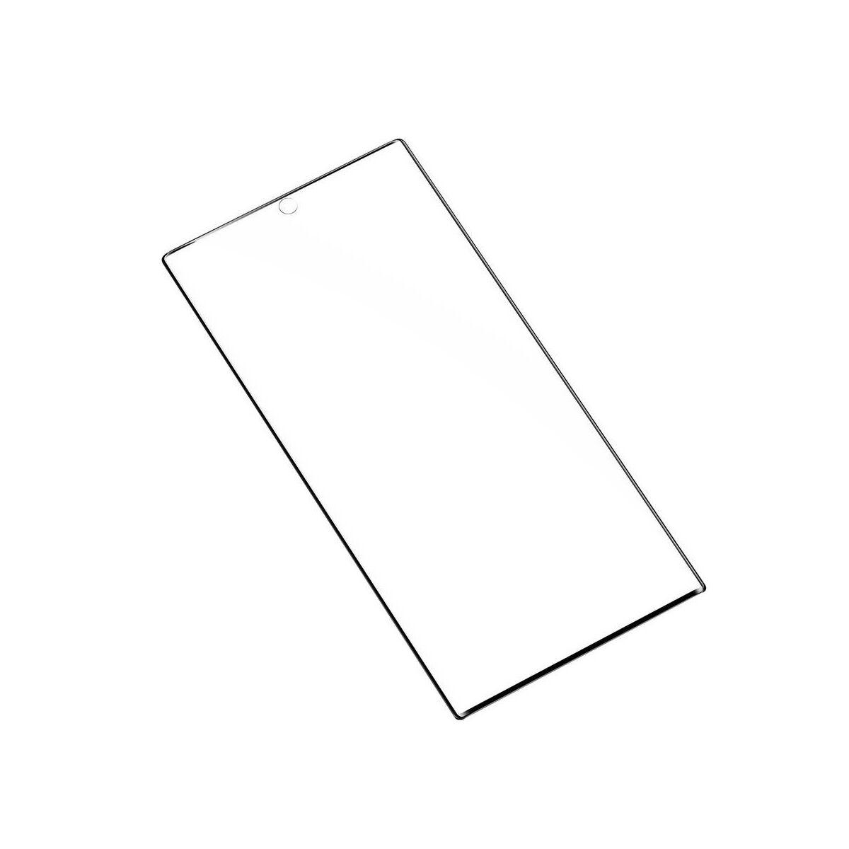 Baseus Samsung Note 10 0.15 mm teljes felületre kijelzővédő fólia, fekete (SGSANOTE10-KR01)