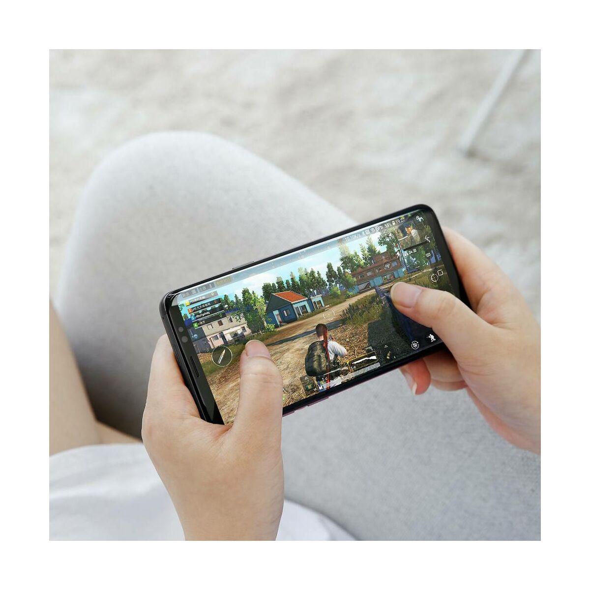Baseus Samsung Note 9 0.3 mm, edzett üveg kijelzővédő fólia, fekete (SGSANOTE9-01)