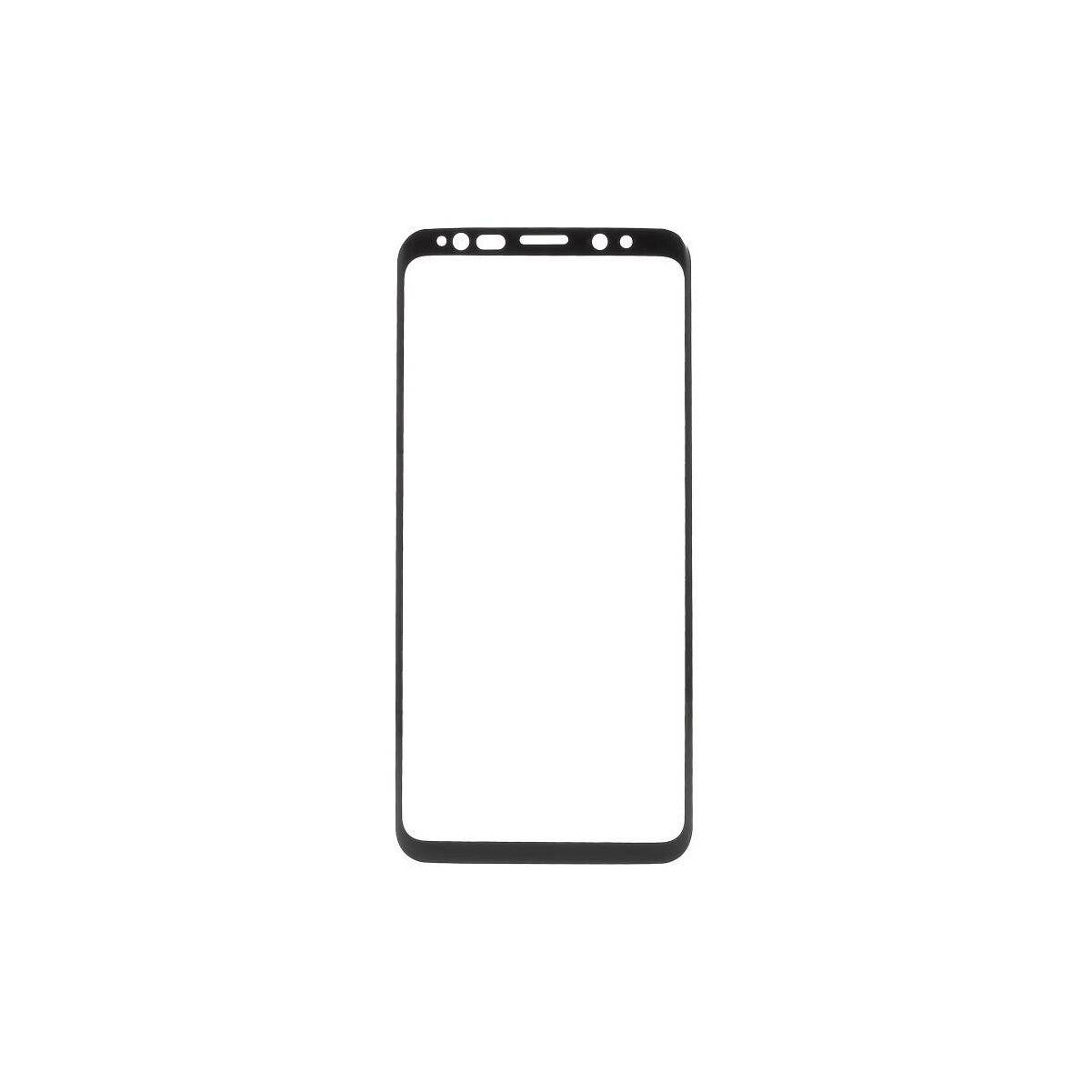 Baseus Samsung S9 Plus 0.3 mm, teljes felületre edzett üveg kijelzővédő fólia, fekete (SGSAS9P-TM01)