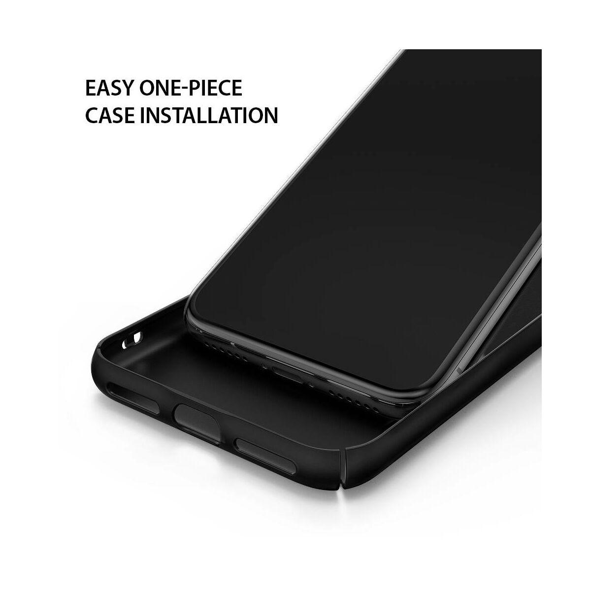 Ringke iPhone X/XS tok, Slim, fekete