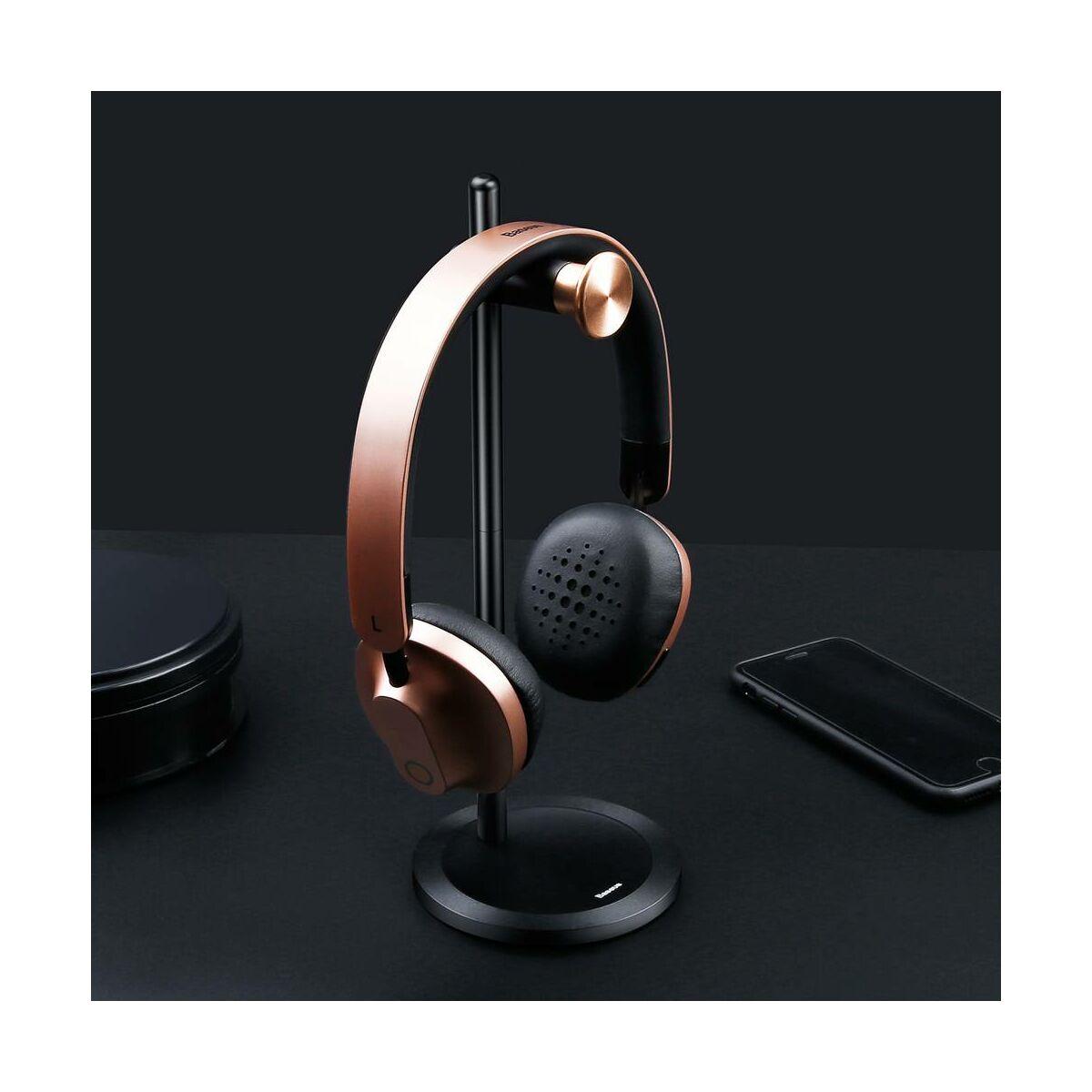 Baseus fejhallgató/fülhallgató, tartó, Encok DB01, fekete (SUDB01-01)