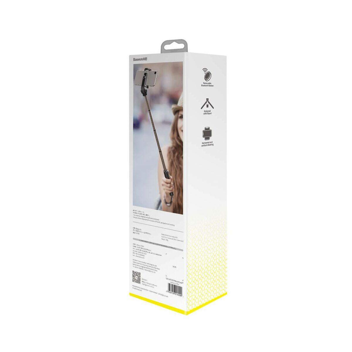 Baseus Video kiegészítő, Lovely markolatról vezérelhető Bluetooth Selfie bot, fekete (SUDYZP-E01)