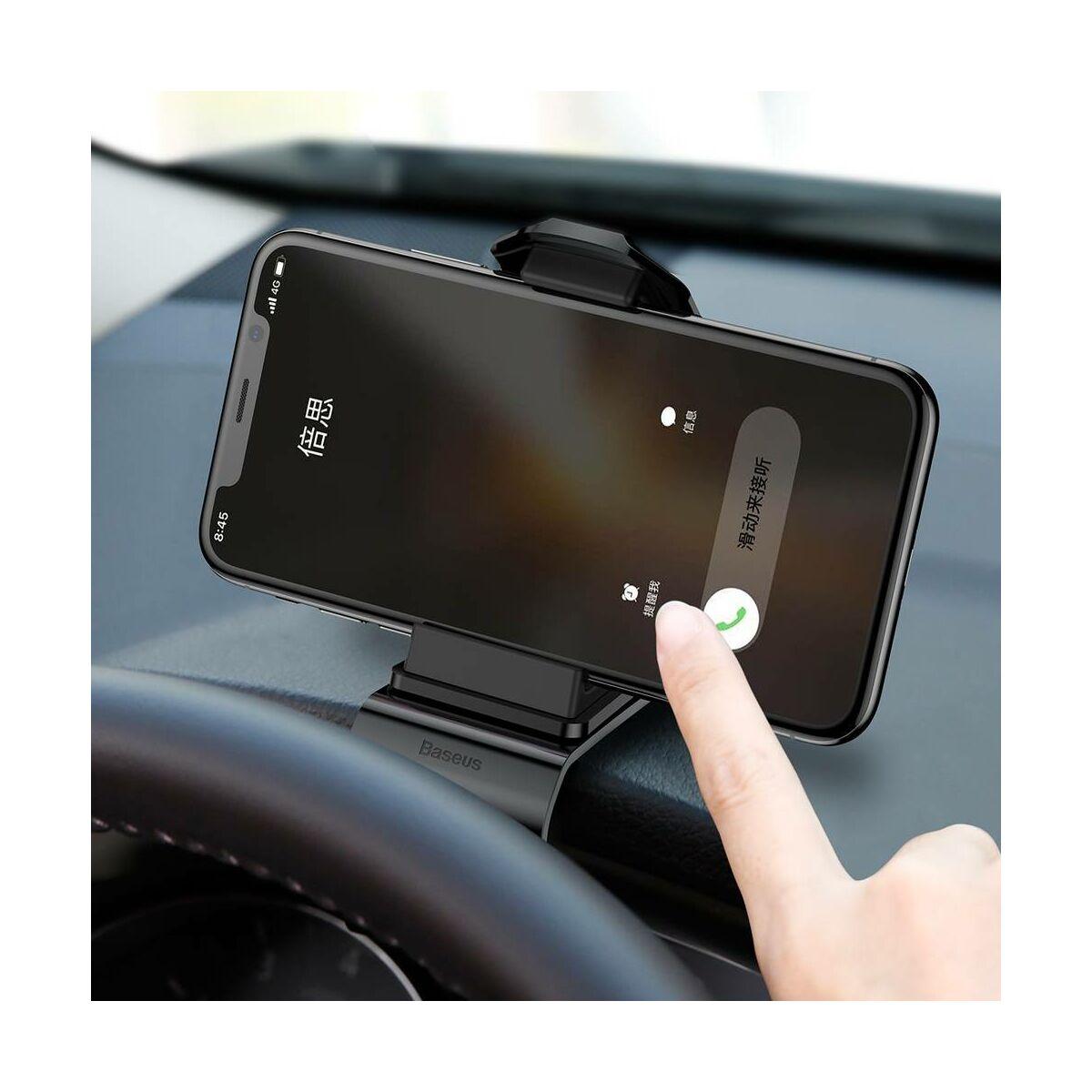 Baseus autós telefontartó, Big series, fekete (SUDZ-01)