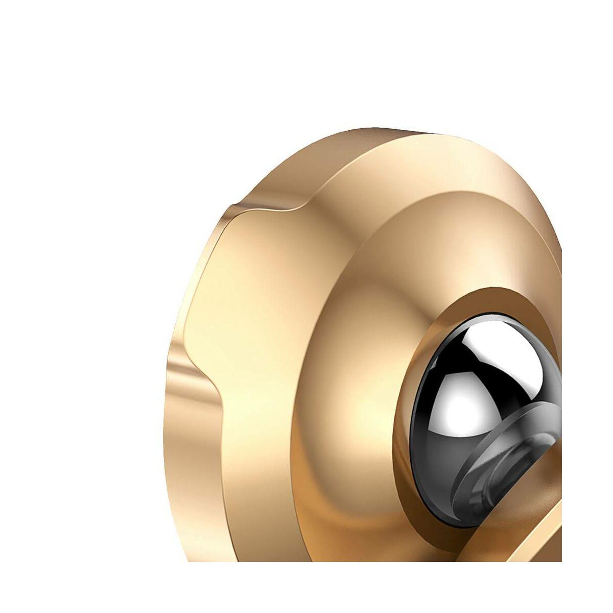 Baseus autós telefontartó, Small Ears series mágneses, szellőzőrácsra, arany (SUER-A0V)