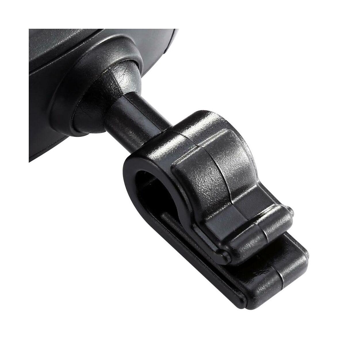 Baseus autós telefontartó, Stable Series, szellőzőrácsra, csak oldal tartó funkcióval, fekete (SUGX-01)