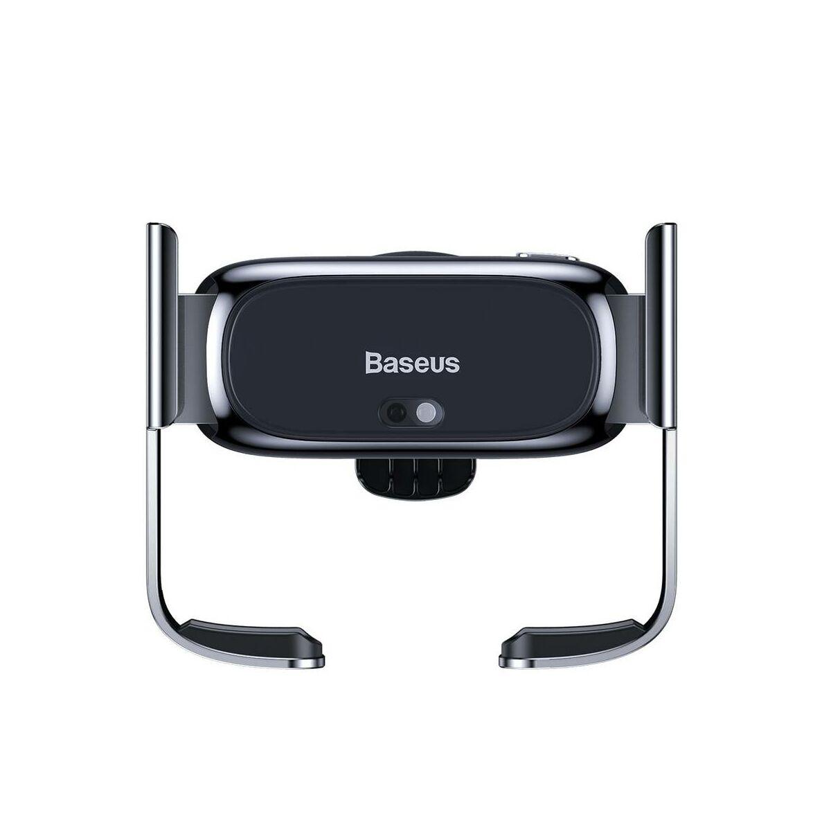 Baseus autós telefon tartó, Mini Electric, szellőzőrácsra, fekete (SUHW01-01)