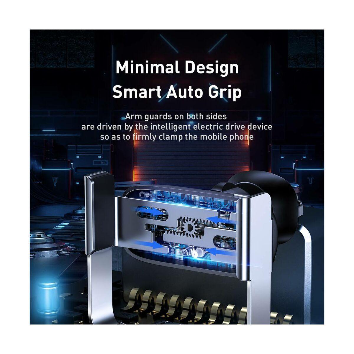 Baseus autós telefontartó, Mini Electric, szellőzőrácsra, fekete (SUHW01-01)