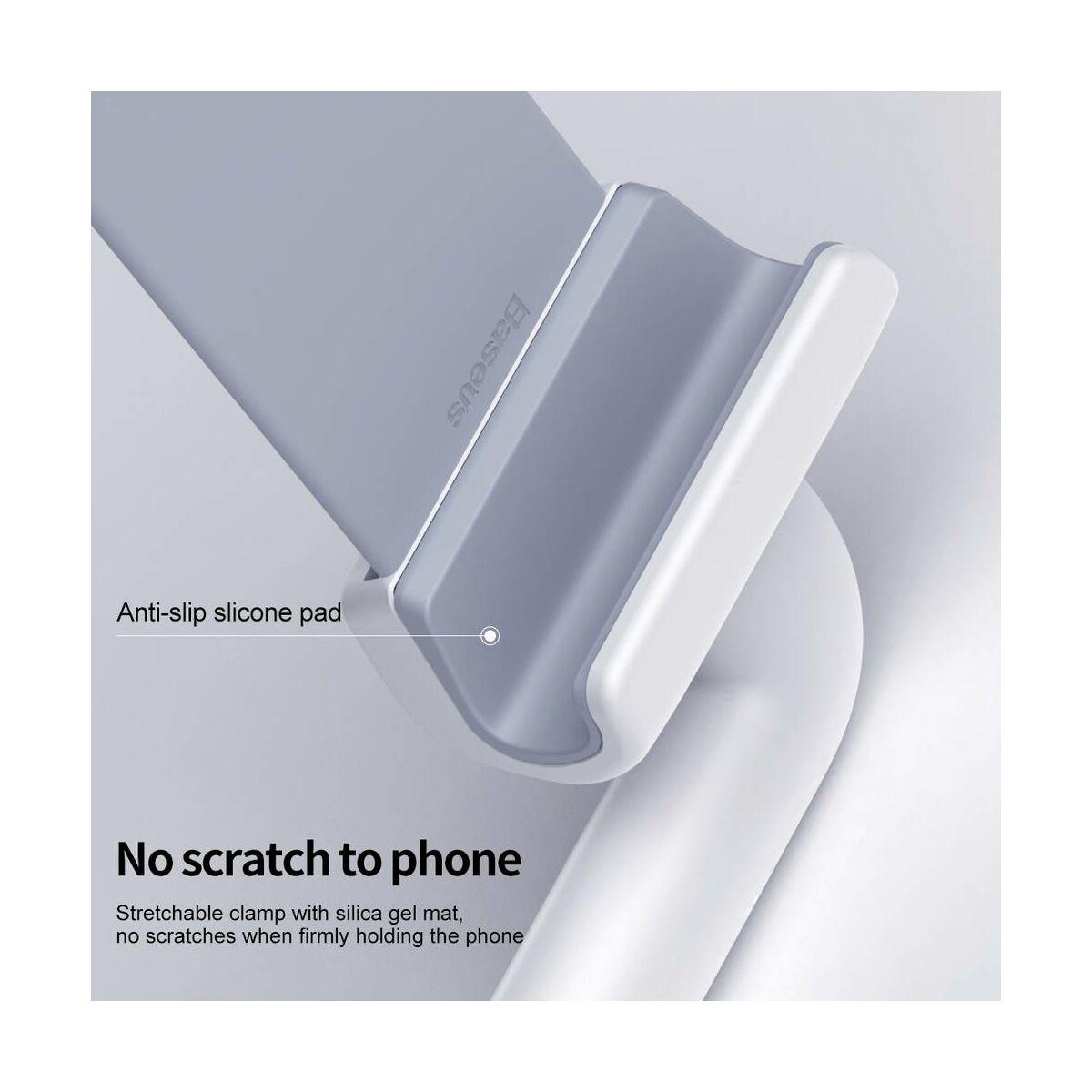 """Baseus Univerzális tartó, nyakba akasztható egyedi flexibilis telefontartó, 6.0""""-ig, fehér (SUJG-ALR02)"""