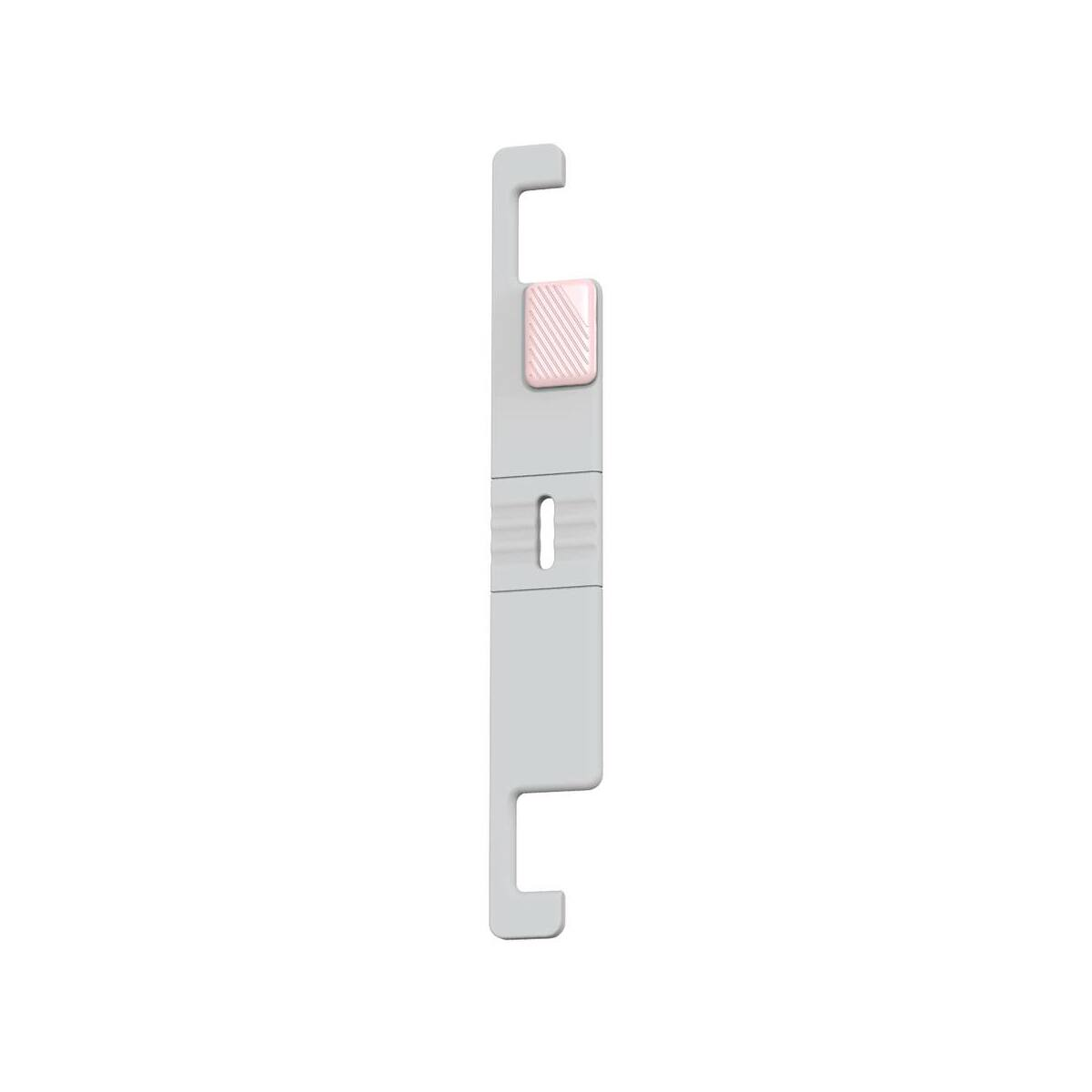 Baseus Univerzális telefon tartó, Lets go mini, hordozható, állítható betekintési szög, fehér/rózsaszín (SUPM-24)