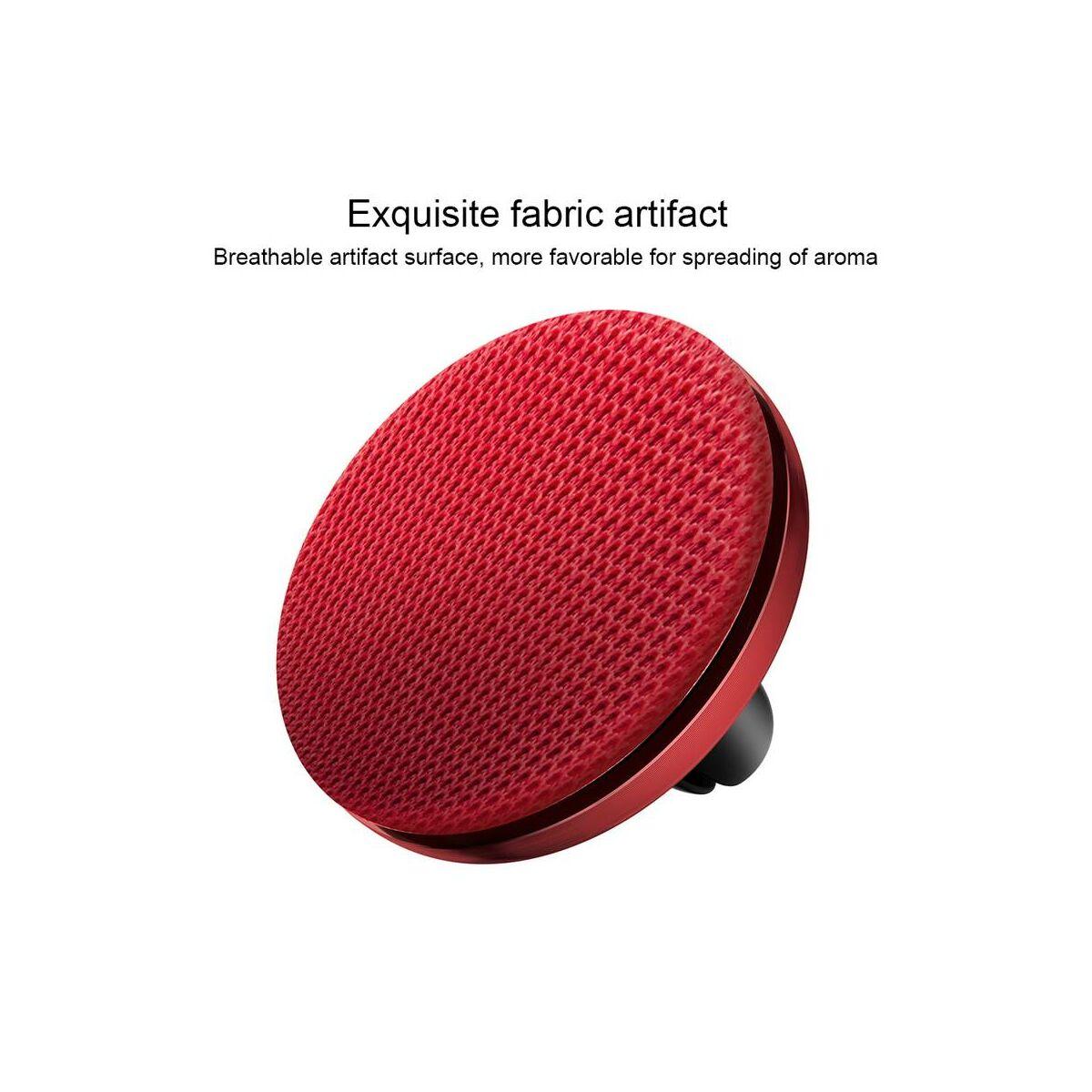 Baseus autós illatosító, Fabric Artifact, piros (SUXUN-BY09)