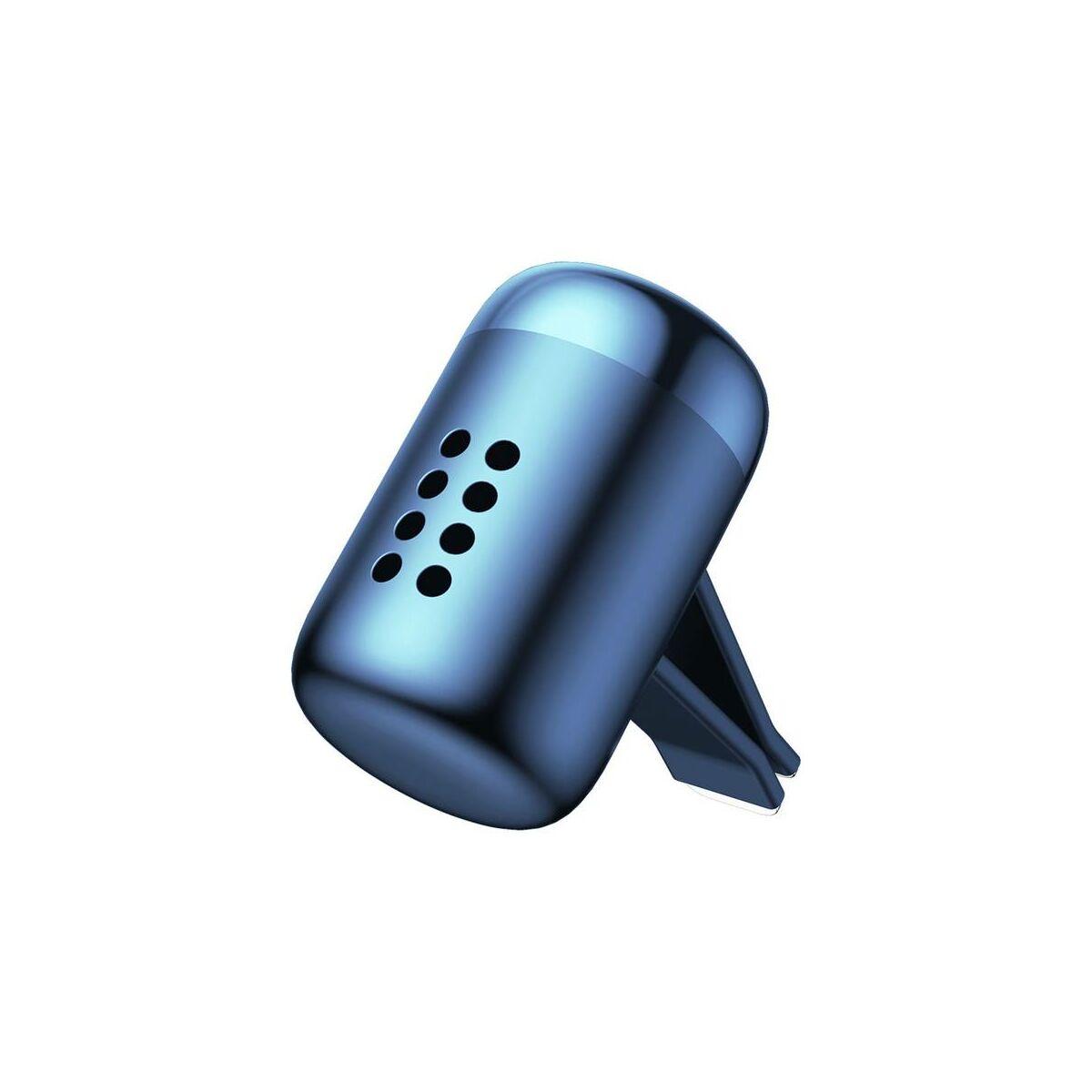 Baseus autós illatosító, Little Fatty, 5db-os parfümmel, kék (SUXUN-PDA03)