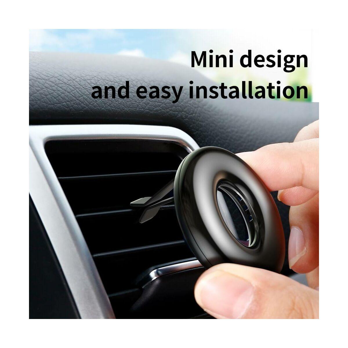 Baseus autós illatosító, Circle Vehicle, piros (SUXUN-QQ09)