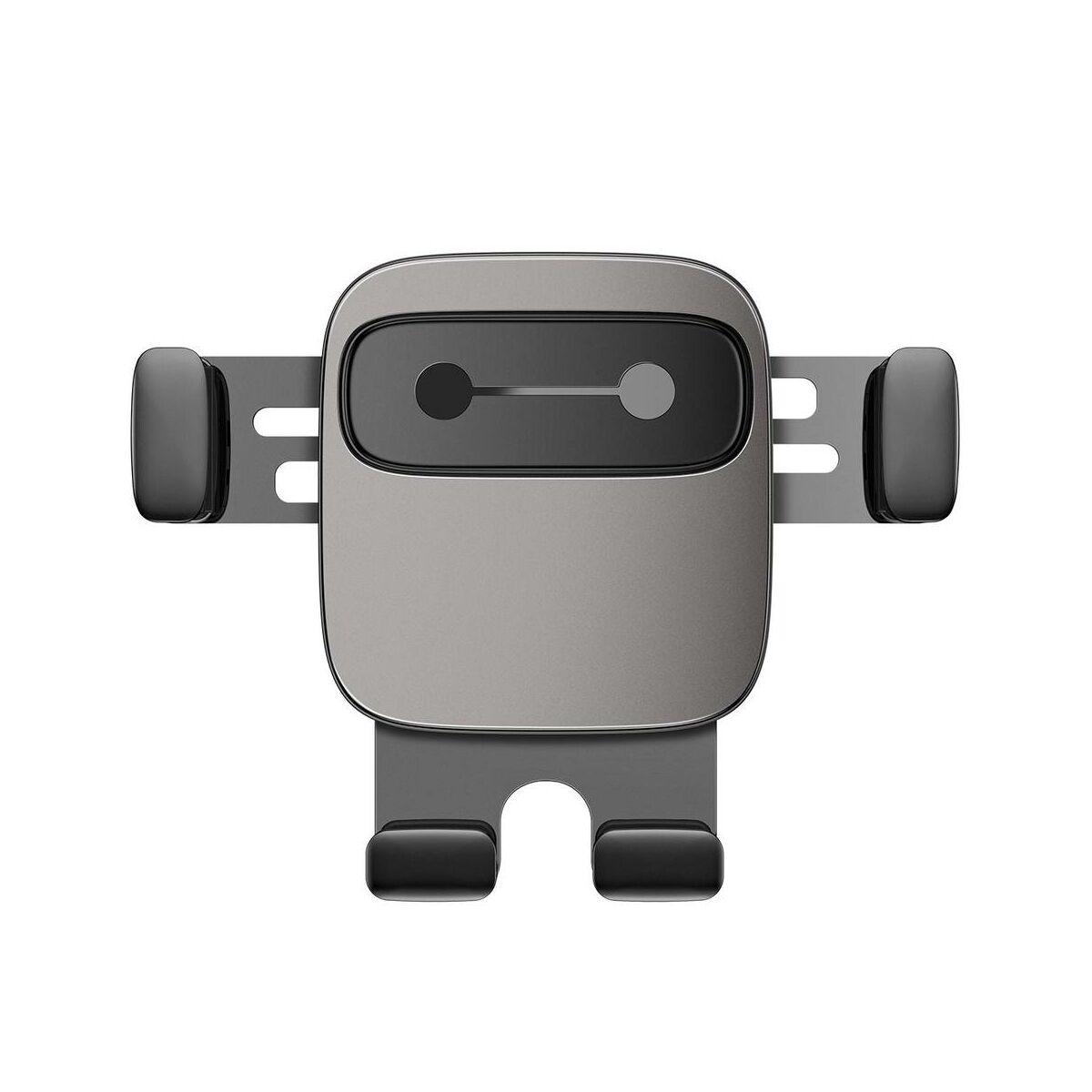 Baseus autós telefontartó, Cube Gravity, szögletesebb design, fekete (SUYL-FK01)