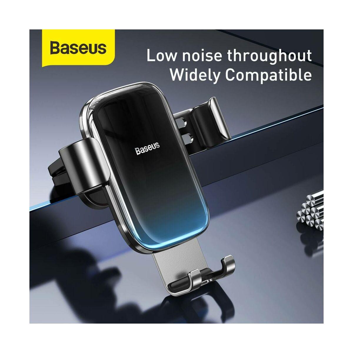 Baseus autós telefontartó, Glaze Garvity, fekete (SUYL-LG01)