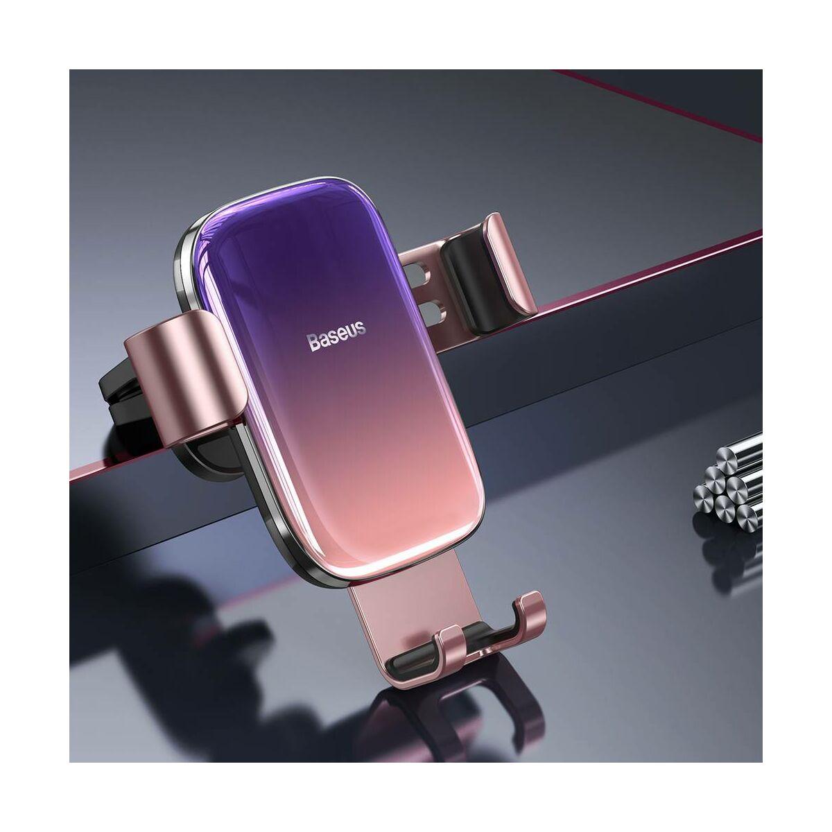 Baseus autós telefontartó, Glaze Garvity, rózsaszín (SUYL-LG04)