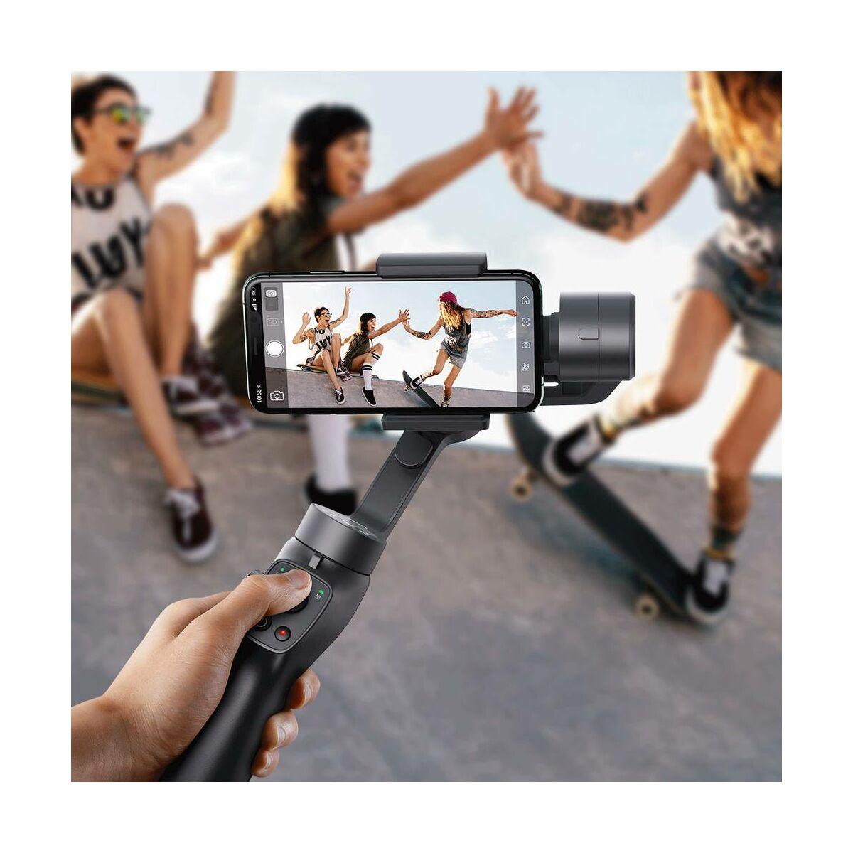 Baseus Kamera, Control kézi képstbilizátor telefonhoz, szürke (SUYT-0G)