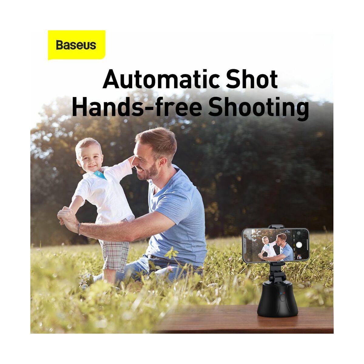 Baseus Video kiegészítő ,inteligens , 360 fokos, automatikus követővel ellátott selfie bot, fekete (SUYT-B01)