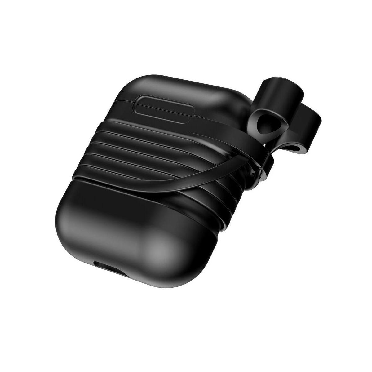 Baseus Airpods 2/1 tok, fekete (TZARGS-01)