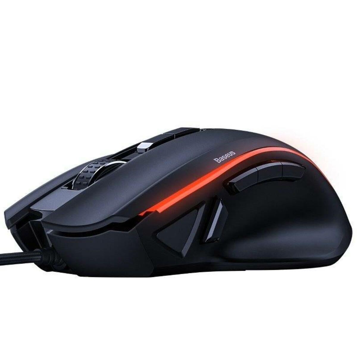 Baseus játék eszköz, GAMO Mobile Game Adapter billentyűzethez és/vagy egérhez - csak Baseus termékekhez, fekete (TZGA01-01)